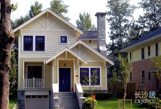 美式别墅图片 美式别墅图片,美式乡村别墅外观图
