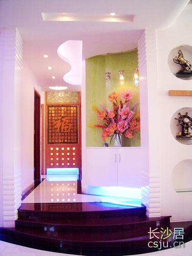 复式房家庭装修 门厅设计需要个性自我